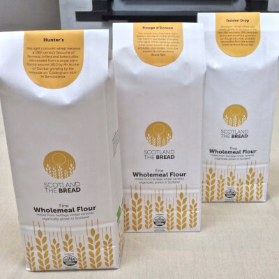 Organic Wholemeal Flour Mix Of 1kg Varieties