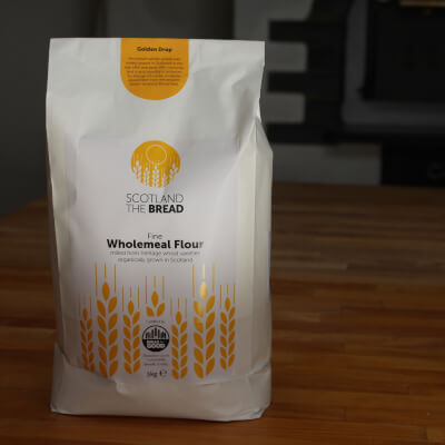 Organic Wholemeal Flour Golden Drop 3kg