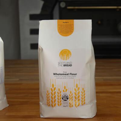 Organic Wholemeal Flour Hunters 3kg