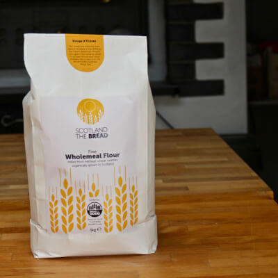Organic Wholemeal Flour Rouge D Ecosse 3kg