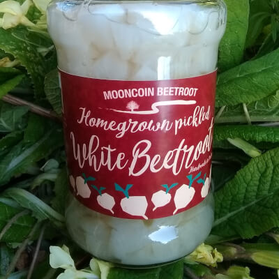 White Pickled Beetroot