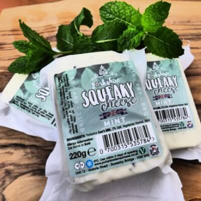 Yorkshire Squeaky Cheese Mint Variety