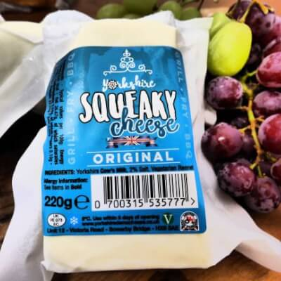 Yorkshire Squeaky Cheese Traditional Flavour
