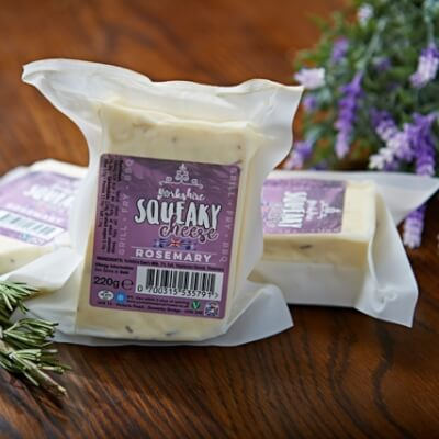 Yorkshire Squeaky Cheese With Rosemary