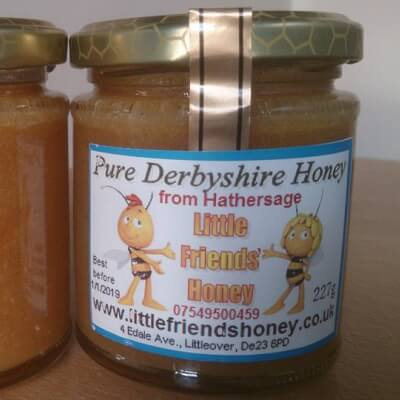 RAW HEATHER HONEY FROM HATHERSAGE