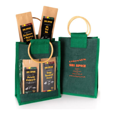 Curry Kit Gift Bag With 4 Main Dish Kits Inside