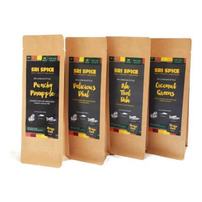All 4 Sri Spice Side Dish Kits