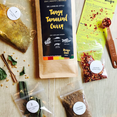 Main Dish: Tangy Tamarind Curry Kit