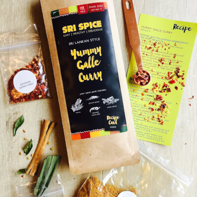 Main Dish :Yummy Galle Curry Kit