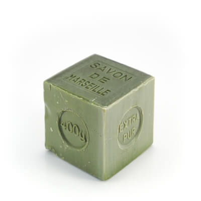 Large Cube Unscented Olive Oil Soap