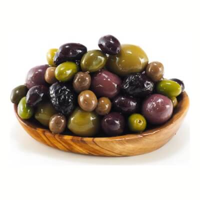 Mixed Pitted Olives