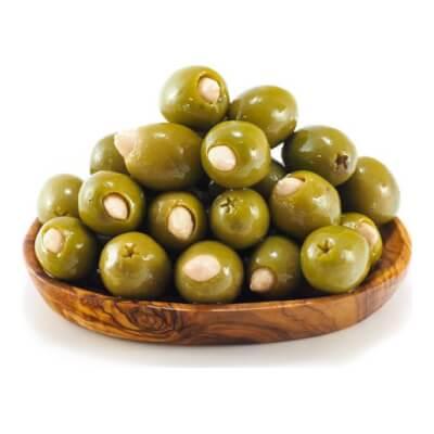 Almond Stuffed Olives