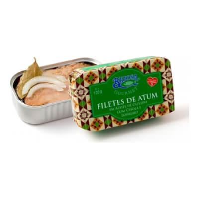Tuna Fillets With Onion & Bay Leaf