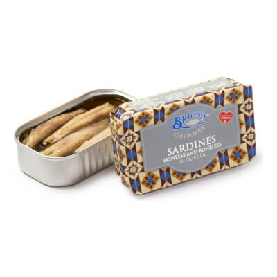 Sardines Skinless & Boneless In Olive Oil