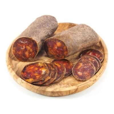 Chorizo Cular Ibérico Bellota: Made From Premium Acorn-Fed Iberian Pork
