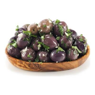 Garlic And Parsley Marinated Olives