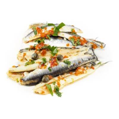 Boquerones - Marinated Anchovy Fillets