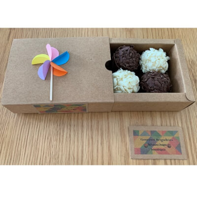 Variety Brigadeiro Box (Box Of 4 - Up To 2 Flavours)