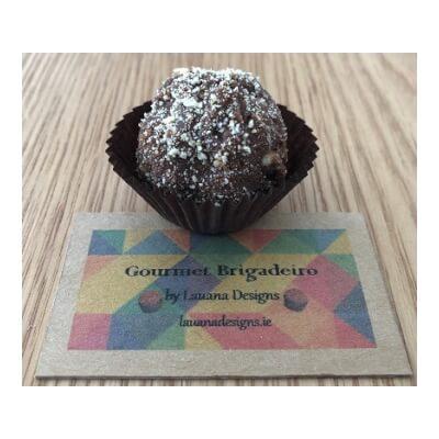 Biscuit Brigadeiro (Dark - Box Of 2)