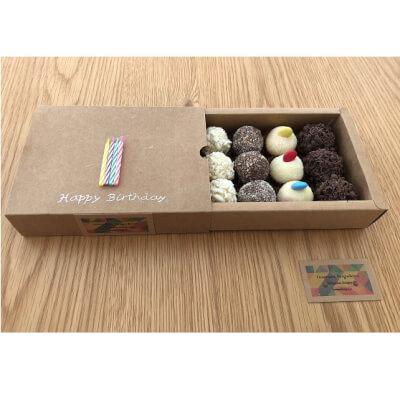 Happy Birthday Brigadeiro (Box Of 12 - Up To 4 Flavours)