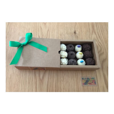 Variety Brigadeiro (Box Of 12 - Up To 4 Flavours)