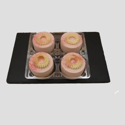 4 Pack Strawberry Cheesecake