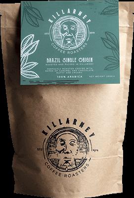 Killarney Coffee Brazil Single Origin - Whole Bean