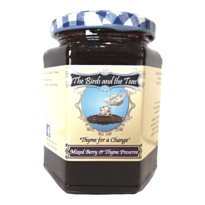 Mixed Berry And Thyme Preserve