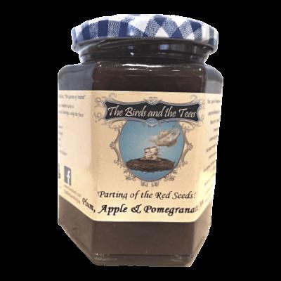 Plum Apple And Pomegranate Jam