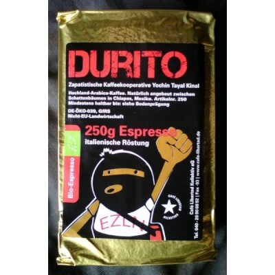 Durito Espresso Zapatista Coffee 250g