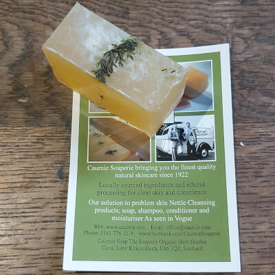 Yarrow And Geranium Soap