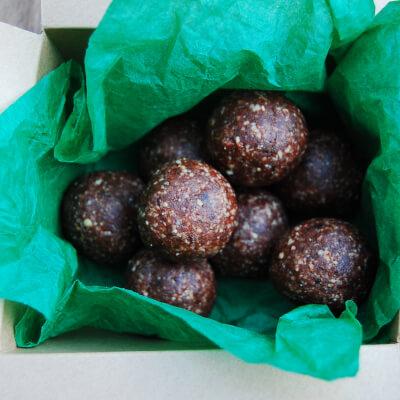 Energy Balls - Rose, Hazelnut & Cacao