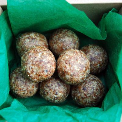 New!!! Energy Balls-Cashew, Cardamon & Ginger