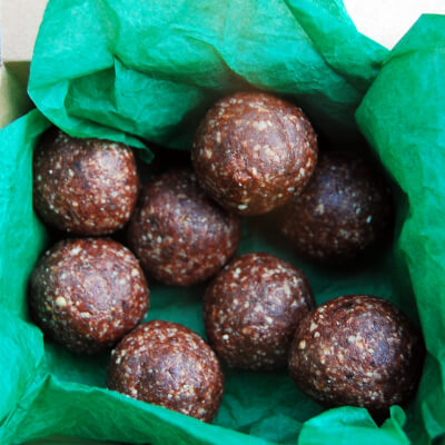 Energy Balls Multi Box - Rose, Hazelnut & Cacao /  Cashew, Cardamon & Ginger