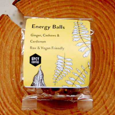 Energy Balls Gift Pack - Cashew, Cardamon & Ginger