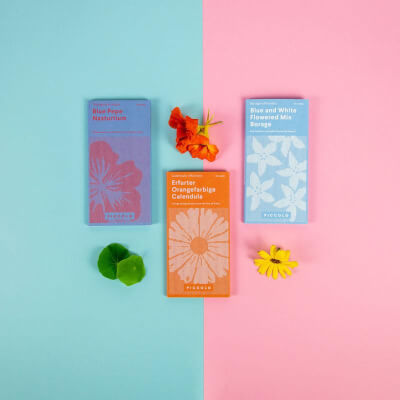 Seeds - Edible Flowers Collection