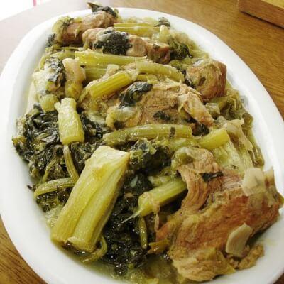 Pork With Celery