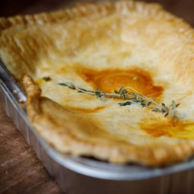 Chicken And Mushroom Pie For Two