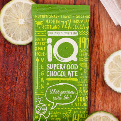 I Q Chocolate Lusciously Lovely Lime