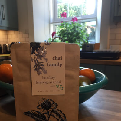 Tchai-Ovna Bombay Lemongrass Chai Tea