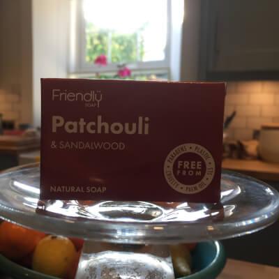 Bath Soap - Patchouli And Sandalwood