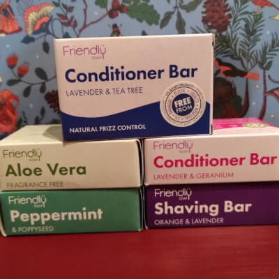 Lavender And Tea Tree Conditioner Bar - Friendly Soap