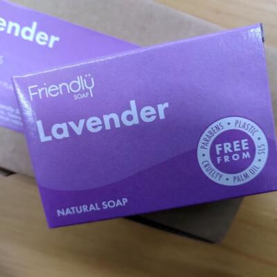 Friendly Soap Lavender Bath Soap