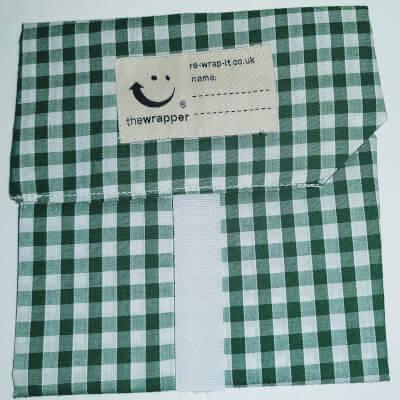 Sandwich Wrap  - Green Check