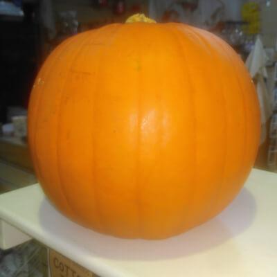Organic Halloween Pumpkin