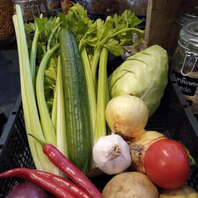 Organic Seasonal Veg Boxes  Small/Medium/Large