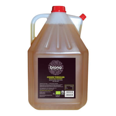 Biona Unfiltered Cider Vinegar Byob