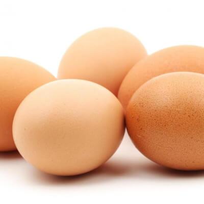 6 X Large Free Range Eggs
