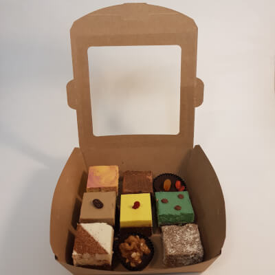 9 Piece Raw Fudge Selection Box