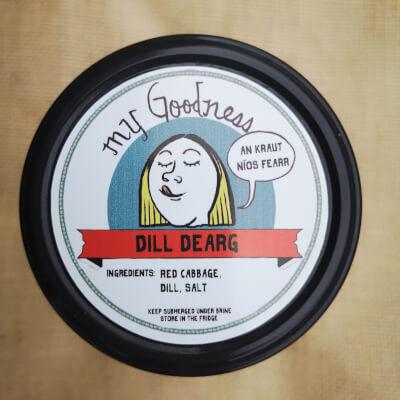 Dill Dearg Sauerkraut